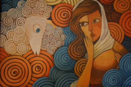 """Chi Panistante's """"Woman at the Well"""""""
