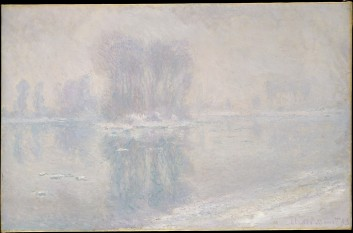 """Ice Floes"" by Claude Monet 1893, made available by the Metropolitan Museum of Art's Open Access program"